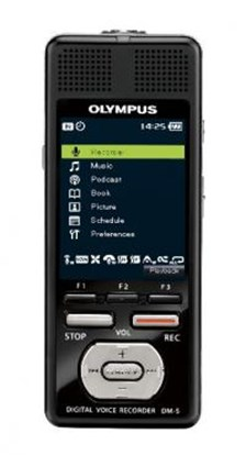 Picture of Olympus DM-5, dyktafon