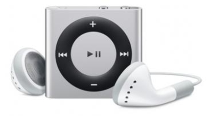 Picture of iPod Shuffle 6gen 2GB srebrny