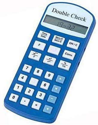 Picture of Calculator Double Check