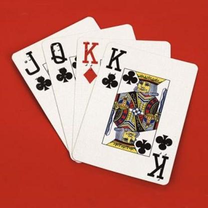 Obrazek Karty do gry z oznaczeniami brajlowskimi i z powiększonym drukiem