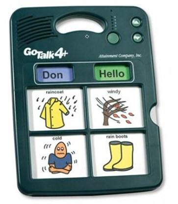 Obrazek Go Talk 4+ – komunikator, urządzenie do komunikacji alternatywnej