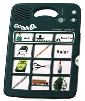 Picture of Go Talk 9+ – komunikator, urządzenie do komunikacji alternatywnej