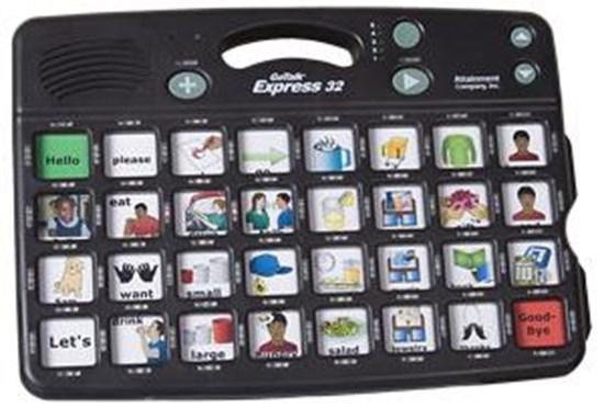 Picture of Go Talk Express 32 – komunikator, urządzenie do komunikacji alternatywnej