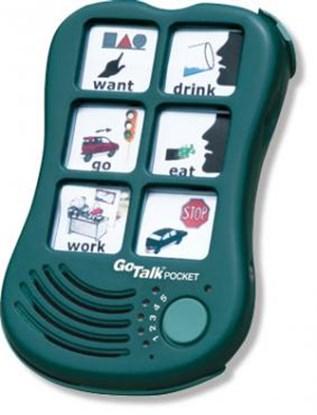Obrazek Go Talk Pocket – komunikator, urządzenie do komunikacji alternatywnej