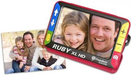 Obrazek Ruby XL HD – lupa elektroniczna