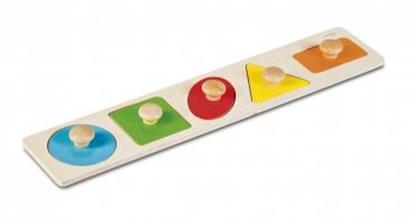Bild von Nakładanka geometryczna - zabawka edukacyjna