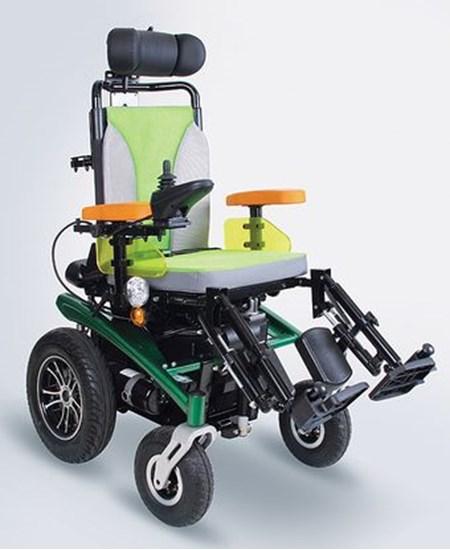 Obrazek Scrubby – elektryczny wózek inwalidzki