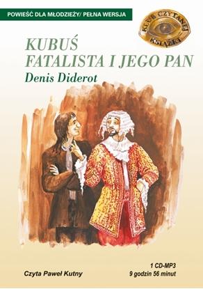 """Obrazek """"Kubuś Fatalista i jego Pan"""" Denis Diderot"""