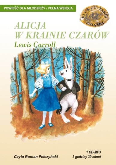 """Obrazek """"Alicja w Krainie Czarów"""" Lewis Carroll"""