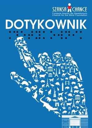 Obrazek Dotykownik - atlas wypukłej grafiki. Zbiór rycin brajlowskich i transparentnych