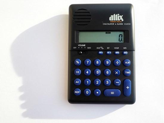 Obrazek Mówiący kalkulator