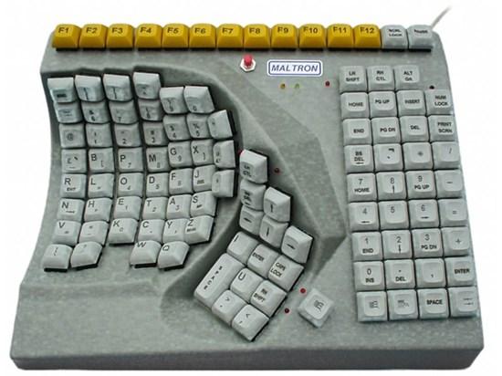Obrazek Maltron –  jednoręczna klawiatura specjalistyczna