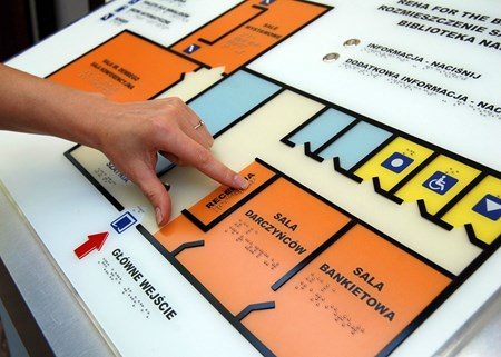 Picture for category Tactile plans and maps