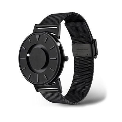 Obrazek Bradley Mesh Black – zegarek na rękę