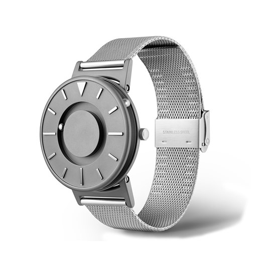 Obrazek Bradley Mesh Silver - zegarek na rękę
