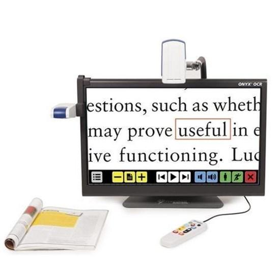 Obrazek ONYX OCR - przenośny powiększalnik wideo