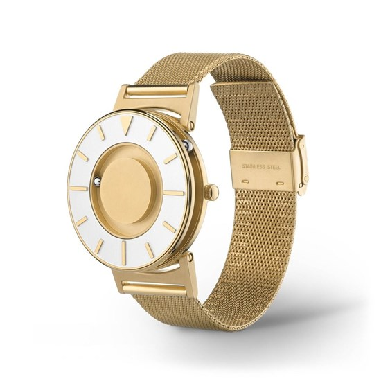 Picture of Bradley Mesh Gold - zegarek na rękę