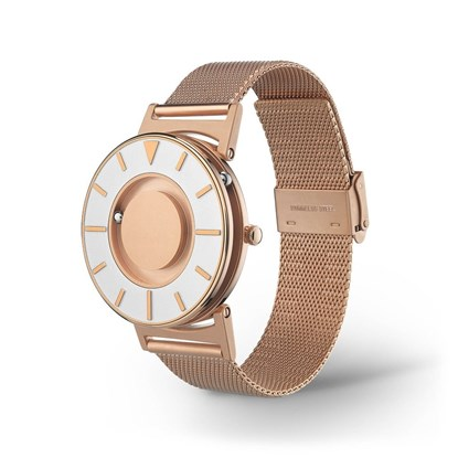 Picture of Bradley Mesh Rose Gold - zegarek na rękę