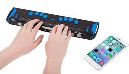 Obrazek Focus 40 Blue - monitor brajlowski piątej generacji