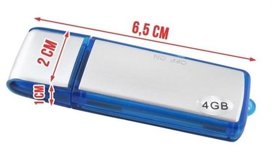 Picture of Dyktafon i pendrive 4GB