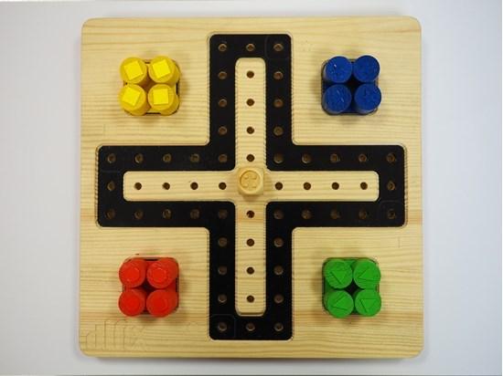 Obrazek Chińczyk – dotykowa gra planszowa