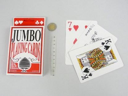 Obrazek Karty do gry Jumbo - duży rozmiar z powiększonym drukiem
