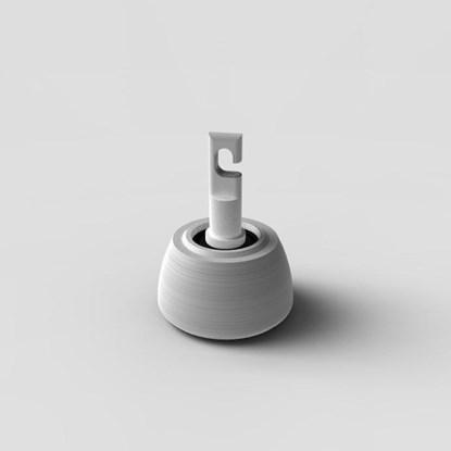 Picture of Końcówka Flex do białej laski - polietylenowa, w kształcie dzwonka