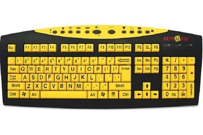 Obrazek Keys-U-See - klawiatura specjalistyczna z dużymi klawiszami