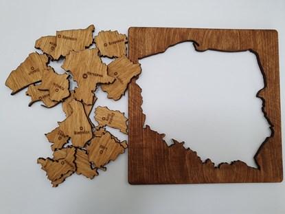 Picture of Układanka Województwa - gra edukacyjna