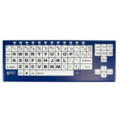 Obrazek BigBlue VisionBoard – bezprzewodowa klawiatura powiększona bluetooth