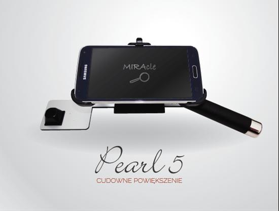 Picture of MIRAcle Pearl 5 - lupa elektroniczna z udźwiękowionym smartfonem Samsung
