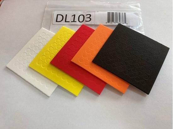 Picture of Kolorowe, samoprzylepne kropki dotykowe