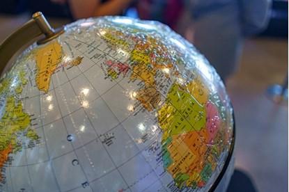 Mówiący globus