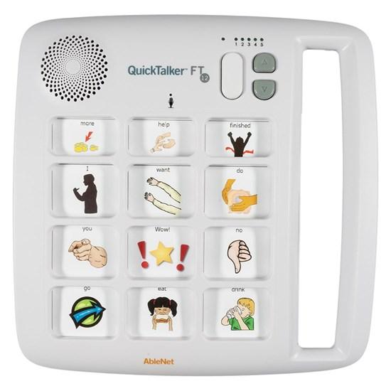 Picture of QuickTalker FT 12 – urządzenie do komunikacji alternatywnej